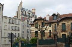 Montmartre-Straße Stockfotos
