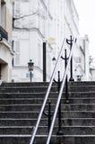 Montmartre-Treppe Lizenzfreie Stockfotos