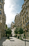 montmartre ulice Paryża Zdjęcie Royalty Free