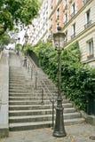 montmartre ulice Paryża Fotografia Royalty Free