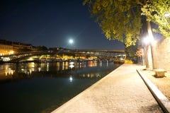 montmartre ulice Paryża Obrazy Royalty Free