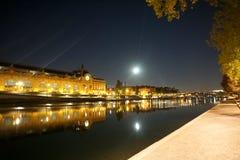 montmartre ulice Paryża Obraz Royalty Free