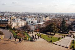 Montmartre view Stock Image