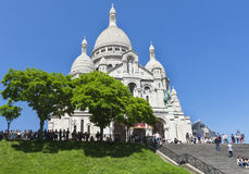Montmartre view Royalty Free Stock Photography