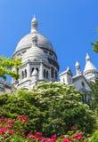 Montmartre widok Obraz Royalty Free