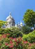 Montmartre widok Fotografia Stock