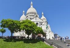 Montmartre widok Fotografia Royalty Free