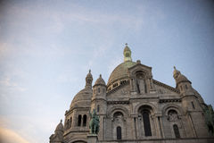 Montmatre Cathedral Royalty Free Stock Photography