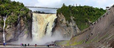 Montmorancy Falls, Quebec - Canada. Royalty Free Stock Photo