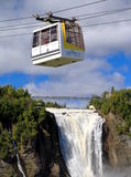 Montmorency Cable Car Stock Photo