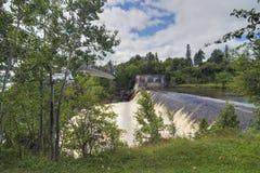 Montmorency-Fälle, Quebec, Kanada Stockbild