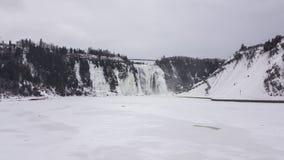 Montmorency fällt Wasserfall Lizenzfreies Stockbild