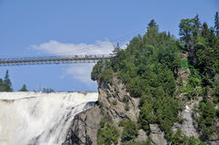 Montmorency Falls, Canada Royalty Free Stock Photo