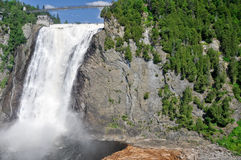 Montmorency Falls, near Quebec city Stock Photo