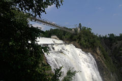 Montmorency Falls, Quebec, Canada Stock Photos