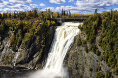 Montmorency falls Quebec City Stock Photos
