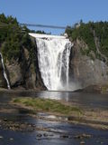The Montmorency Falls in Quebec City, Canada Stock Photo