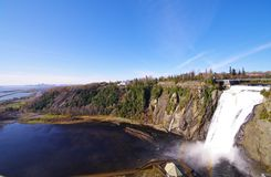 Montmorency falls4 Stock Photography