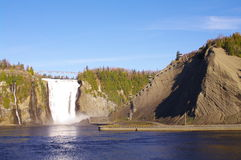 Montmorency falls666 Royalty Free Stock Photography