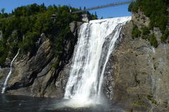 Montmorency waterfall Royalty Free Stock Photo