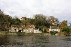 Montmorillon, Francja Zdjęcie Royalty Free