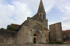 Montmorillon, Frankreich Stockfotos