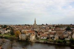 Montmorillon Frankrike Royaltyfri Foto