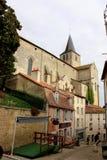 Montmorillon Frankrike Arkivbilder