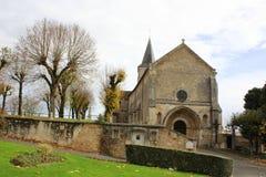 Montmorillon Frankrike Arkivbild