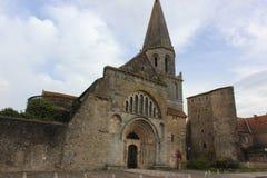 Montmorillon Frankrike Arkivfoton