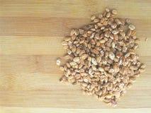 Montón asado del grano de avena Fotografía de archivo