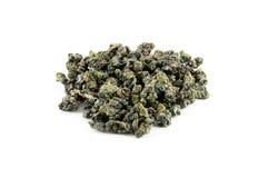 Montón del té verde Imagen de archivo libre de regalías