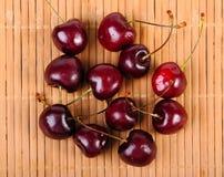 Montão de cerejas doces Fotografia de Stock