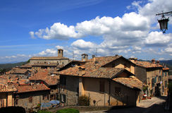 Montone in Umbria. A typical  medieval town of central Italy Royalty Free Stock Photos
