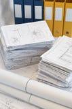 Montones de los gráficos del diseño y del proyecto imagenes de archivo