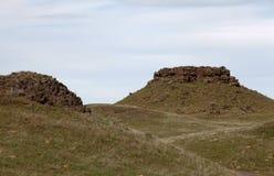 Montones del basalto Imagen de archivo libre de regalías