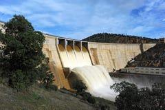 Montoro reservoir, Ciudad Real province, Castilla la Mancha, Spain Royalty Free Stock Photography