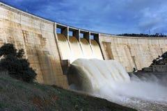 Montoro reservoir, Ciudad Real province, Castilla la Mancha, Spain Royalty Free Stock Photos
