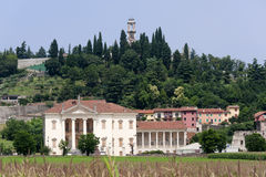 Montorso Vicentino (Veneto) - Villa Da Porto Royalty Free Stock Photo