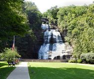 Montour Falls Attraction In Schuyler County NYS Royalty Free Stock Photography