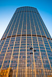 Башня Montparnasse в центре Парижа Стоковые Фотографии RF
