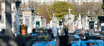 Montparnasse Cemetery Stock Photos