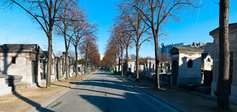 Montparnasse Cemetery Stock Photo