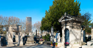 Montparnasse Cemetery Royalty Free Stock Photos