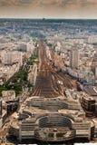 Montparnasse della stazione, Parigi Immagini Stock Libere da Diritti