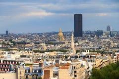 Montparnasse skyline Stock Photography
