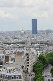 Montparnasse Tower in Paris Royalty Free Stock Images