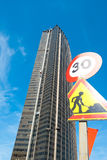 Montparnasse Tower Royalty Free Stock Photography