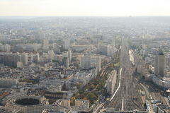 Montparnasse view Royalty Free Stock Image