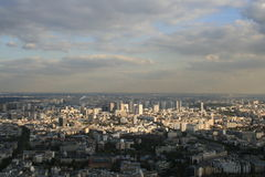Montparnasse view Stock Photography